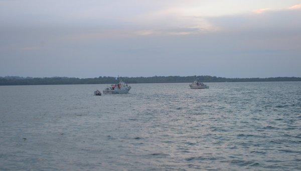 Refuerzos militares fueron enviados al río Sarstún luego del incidente donde murió el menor de 13 años. (Foto Prensa Libre: Hemeroteca PL)