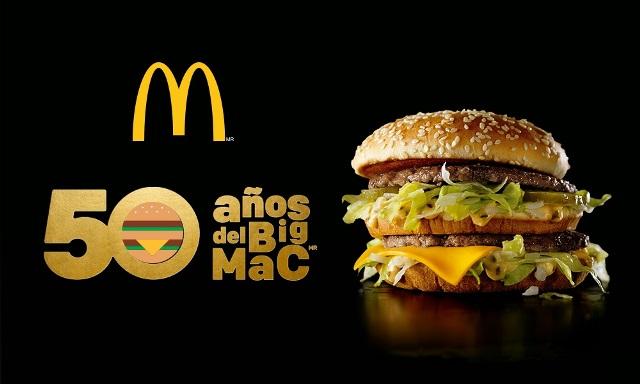 McDonald's celebra los 50 años de su Big Mac