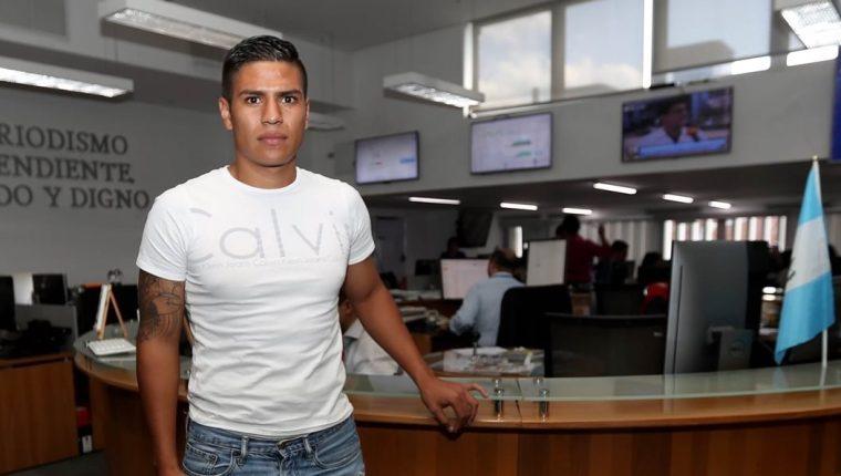 El delantero Mauro Portillo busca ganar más minutos con Siquinalá. (Foto Prensa Libre: Hemeroteca PL)