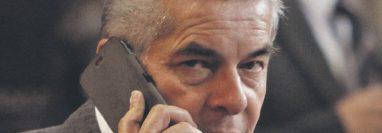 El expresidente del Congreso, Luis Rabbé, fue localizado en Nuevo León, México. (Foto Prensa Libre: Hemeroteca PL).