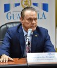 El ministro de Salud, Carlos Soto fue amonestado por el Tribunal de Honor del Colegio de Médicos y Cirujanos. (Foto Prensa Libre)