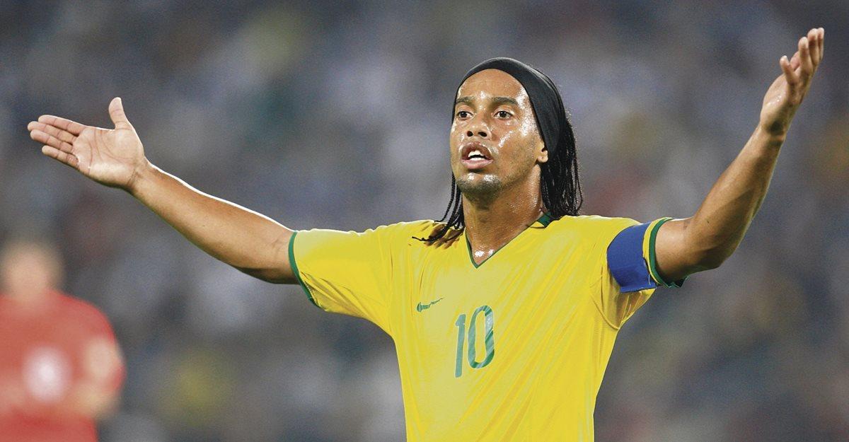 Ronaldinho jugará en Honduras un amistoso con Motagua y el Real España