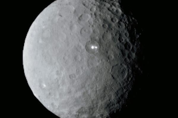 Los puntos brillantes de Ceres habían sido un misterio hasta el acercamiento de la sonda Dawn. (Foto: Hemeroteca PL)