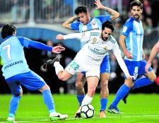 El talentoso volante español Isco Alarcón no tiene contemplado marcharse del Real Madrid y le apuesta a ganar más campeonatos (Foto Prensa Libre: Hemeroteca PL)