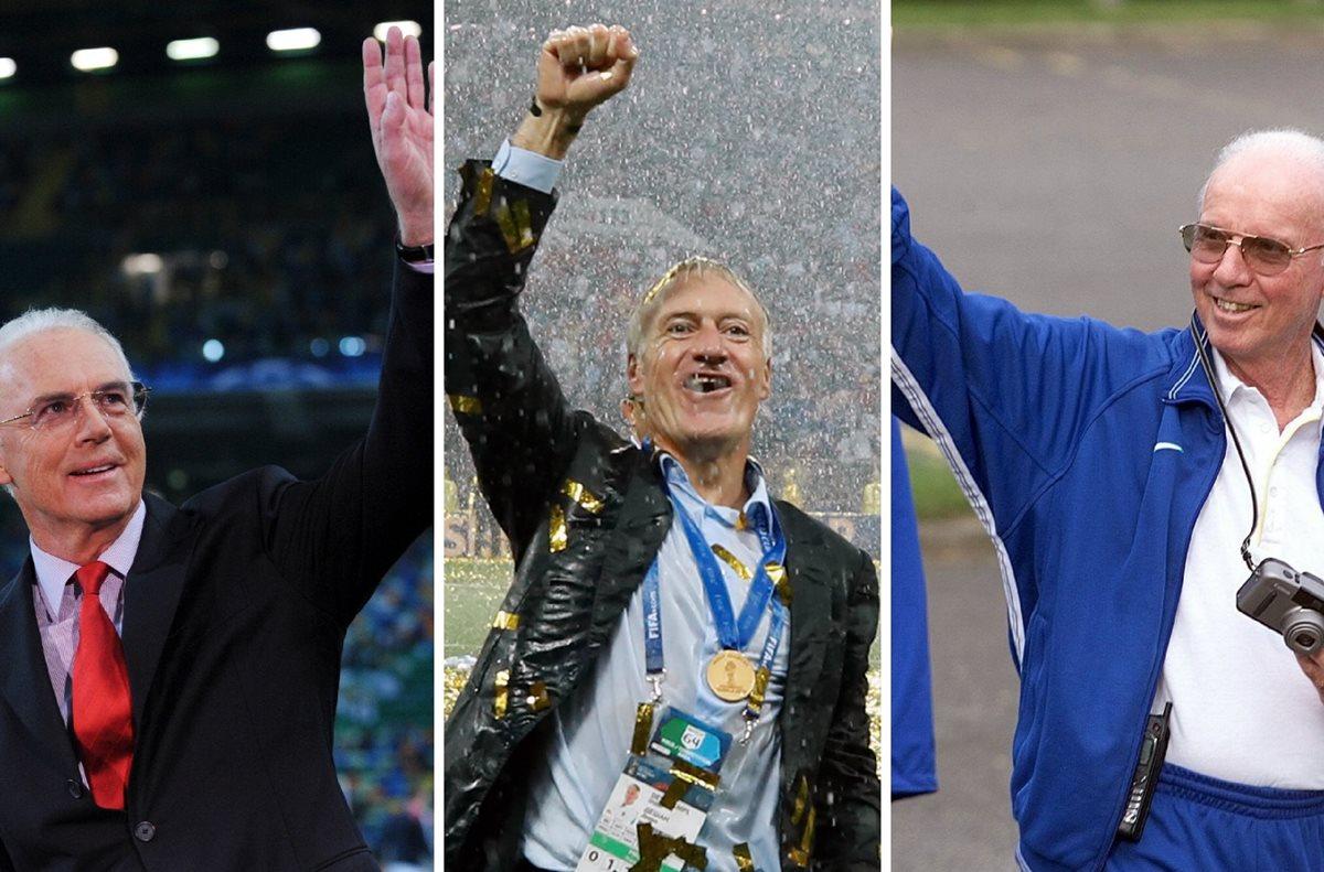 """Franz Beckenbauer felicita a Didier Deschamps y le da la bienvenida a """"su club"""""""