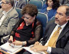 Reunión del Consejo Asesor del Pronacom. (Foto Prensa Libre: Alvaro Interiano)