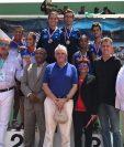 Atletas de Pentatlón ganaron plata y oro en Relevo Mixto en el Panamericano y Norceca respectivamente. (Foto Prensa Libre: COG)