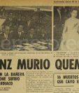 Nota periodística de Prensa Libre del 28 de enero de 1971. (Foto: Hemeroteca PL)