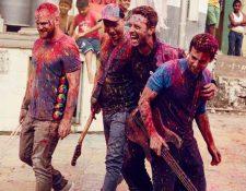 Coldplay anuncia lanzamiento del álbum A Head Full Of Dreams. (Foto Prensa Libre: Warner Music)