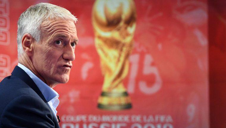 Didier Deschamps hizo su convocatoria para Rusia 2018. (Foto Prensa Libre: AFP)