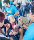 Niños con padecimiento de labio y paladar hendido han recuperado la sonrisa a través de cirugías. (Foto Prensa Libre: Operación Sonrisa)