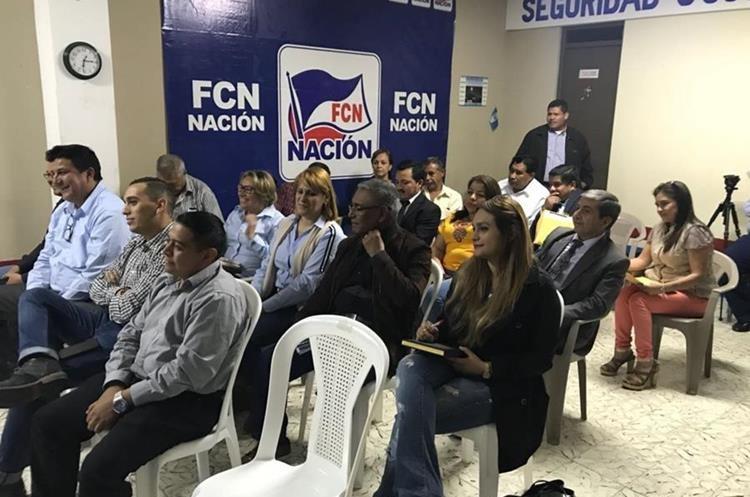 El proceso de cancelación de FCN-Nación sigue suspendido al otorgarle al partido oficial otro amparo provisional. (Foto Prensa Libre: Hemeroteca PL)