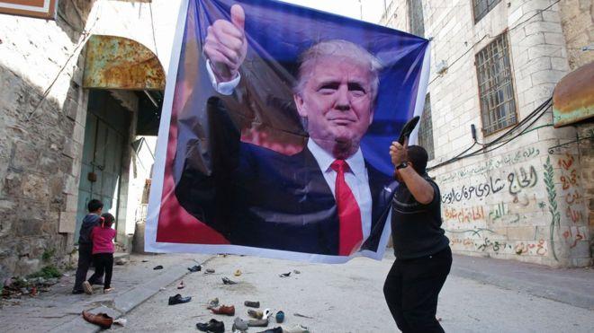 La ayuda estadounidense a Medio Oriente no ha escapado a la controversia. AFP
