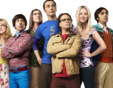 The Big Bang Theory es una serie de comedia que narró las vidas de cuatro jóvenes genios de la ciencia (Foto Prensa Libre: CBS).