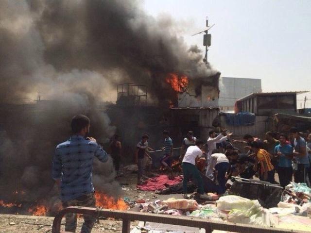 Al menos 94 muertos en tres atentados reivindicados por el EI en Bagdad