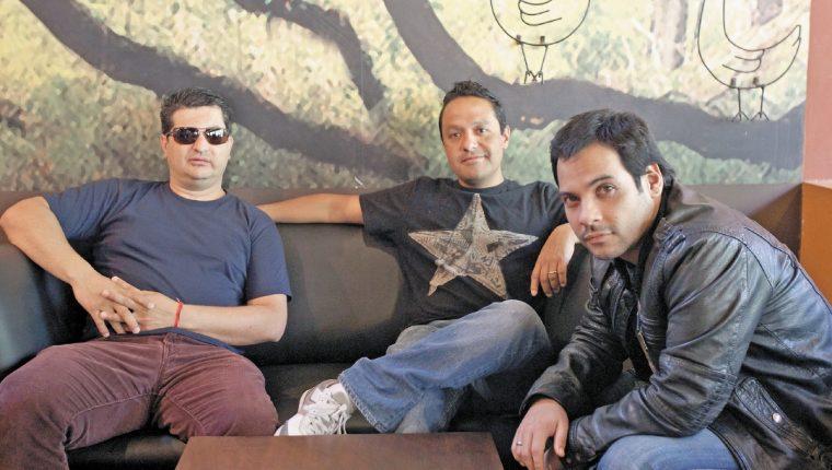 Tono, Javi y Pancho están seguros que su nuevo material será bien aceptado. (Foto Prensa Libre Esbin García)