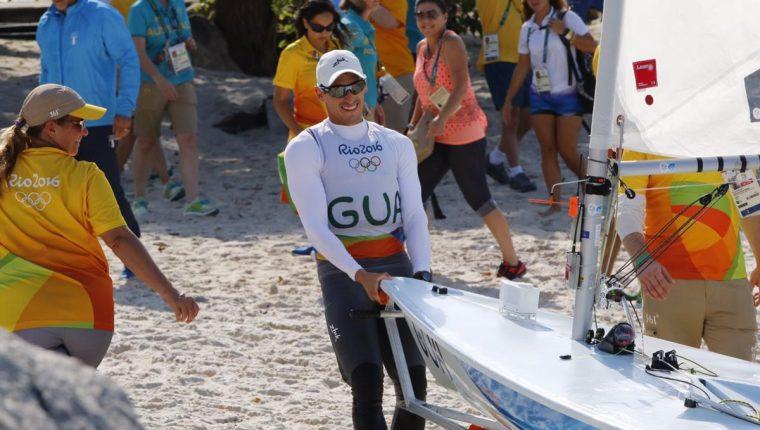 Juan Maegli terminó su tercer participación en Juegos Olímpicos. (Foto Cog).