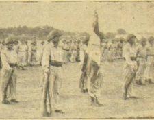 Celebración del Día del Ejército, 22 de diciembre de 1951. (Foto: Hemeroteca PL)