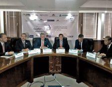 Empresarios alemanes se reunieron ayer con ejecutivos de la Cámara de Industria de Guatemala. (Foto Prensa Libre: Cortesía CIG)