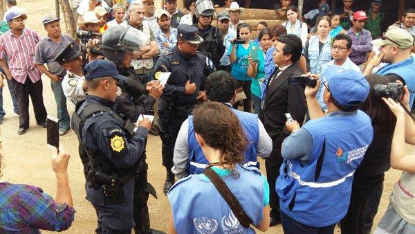 Por más de dos años se ha mantenido tensión por la las operaciones del proyecto minero Progreso VII Derivada. (Foto, Prensa Libre: Hemeroteca PL)