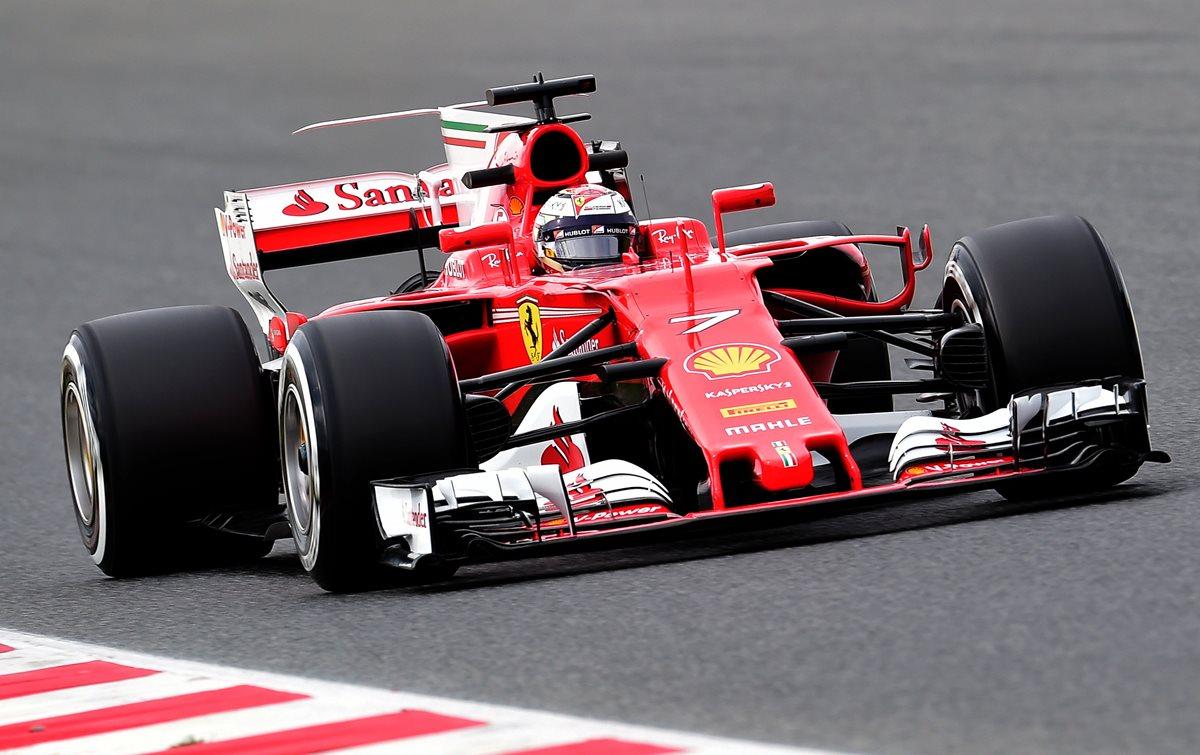 Raikkonen el más rápido en pruebas de la tarde