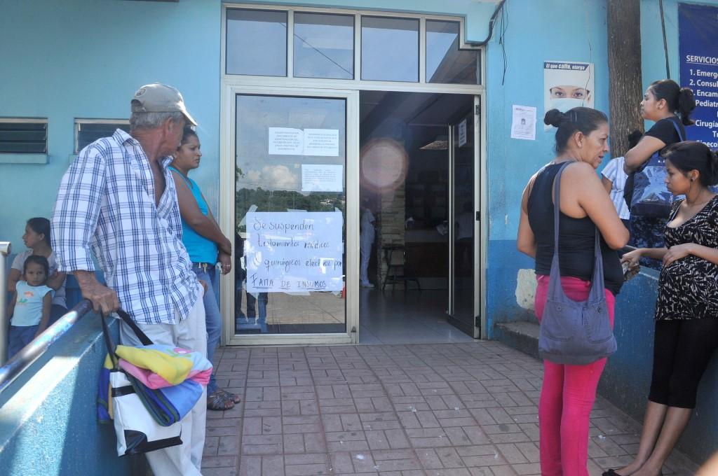 Hospital de Cuilapa suspende atención a pacientes por falta de insumos
