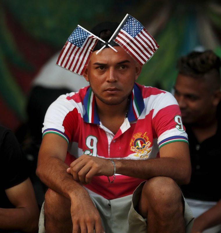 Un migrante que espera llegar a EE. UU. (Foto Prensa Libre: EFE)