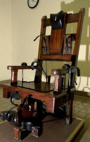 La silla eléctrica fue uno de los métodos de ejecución más usados en Estados Unidos en el siglo XX. GETTY IMAGES