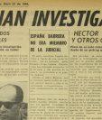 El 23/04/1964 ordenan investigar la muerte de dos policí?as donde fue acusado un atleta guatemalteco. (Foto: Hemeroteca PL)