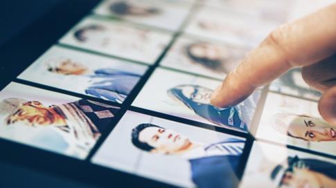 La red social tiene almacenada una base de datos de rostros de sus usuarios. GETTY IMAGES