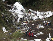 Por cada fallecido debería cancelar hasta US$165 mil, según LaMia.(Foto Prensa Libre: AP).