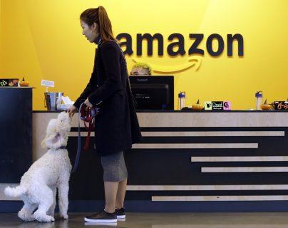 La gigante Amazon busca lugar para su segundo cuartel general. (Foto Prensa Libre: AFP)