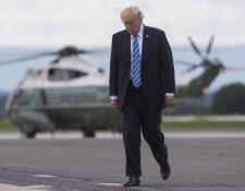 """Donald Trump ha obtenido el número máximo de """"Pinochos"""" en varias ocasiones, segúnThe Fact Checker. (AFP)."""