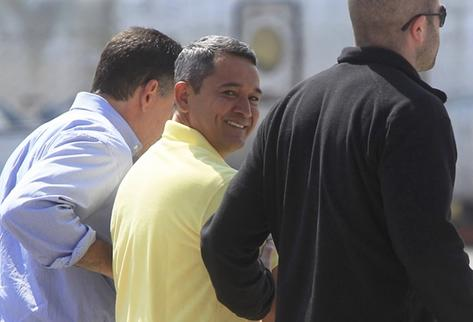 Waldemar Lorenzana Cordón, hijo de  el Patriarca  fue extraditado a Estados Unidos. (Foto Prensa Libre: É. Ávila)