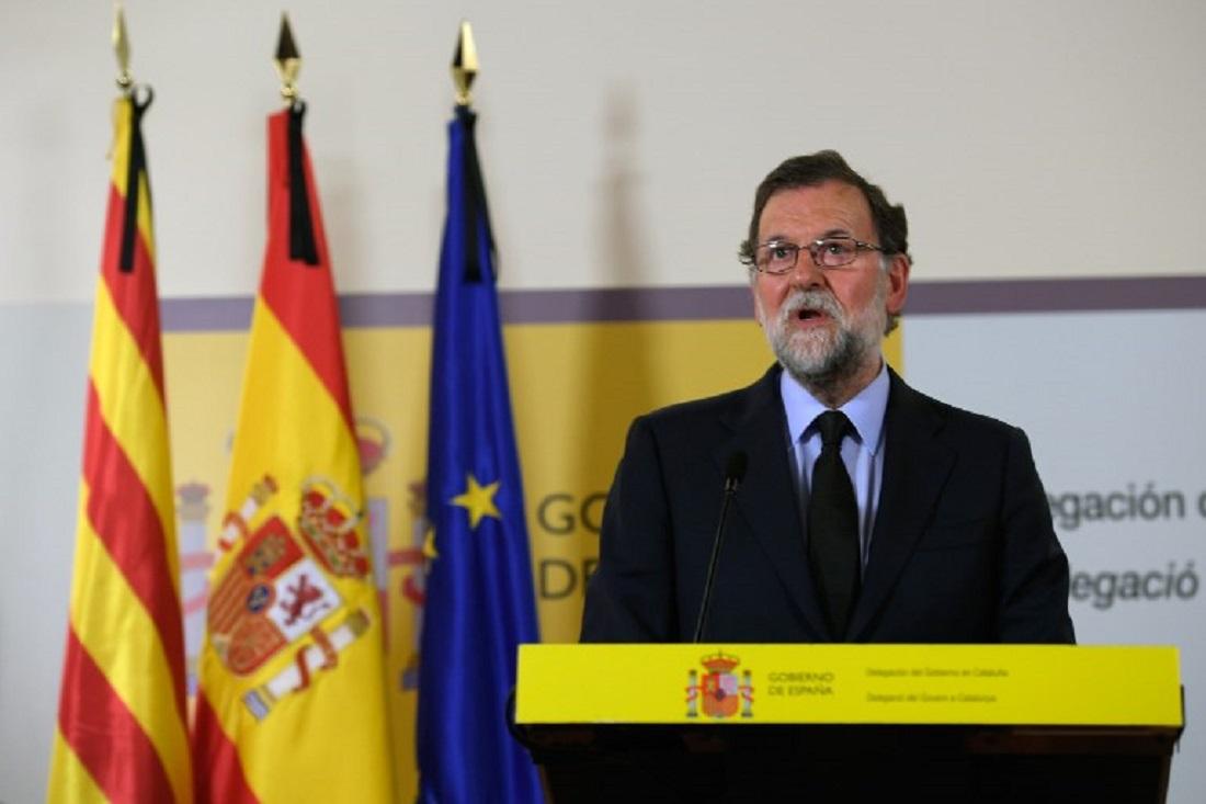 Mariano Rajoy, jefe del Gobierno español. (Foto Prensa Libre: AFP)