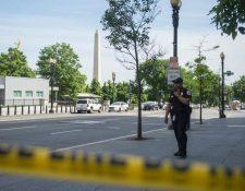 El Servicio Secreto ha creado un perímetro de seguridad para atender el incidente. (Foto Prensa Libre: Hemeroteca PL)