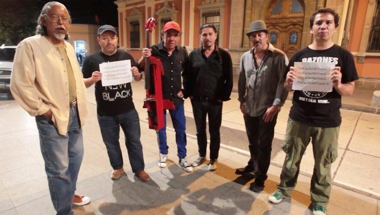 La banda guatemalteca Alux Nahual participa en video lleno de civismo. (Foto Prensa Libre: Keneth Cruz)