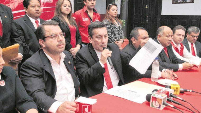 El diputado Roberto Villate es investigado por financiamiento electoral ilícito en el partido Líder. (Foto Prensa Libre: Hemeroteca PL)