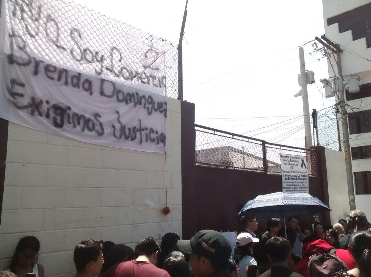 Demandan justicia para estudiantes atropellados en calzada San Juan