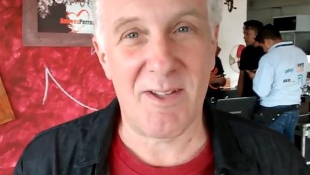 """Daniel Sais era conocido como el """"cuarto Soda Stéreo"""" (Foto Prensa Libre: YouTube)."""