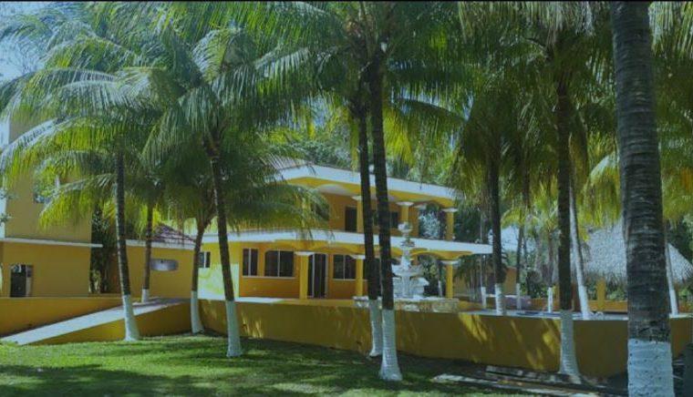 Casa de recreo propiedad del diputado Mario Rivera, valorada en unos US$450 mil en Puerto de San José, Escuintla. (Foto Prensa Libre: MP)