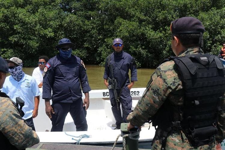 Retenidos dos pescadores guatemaltecos en aguas beliceñas