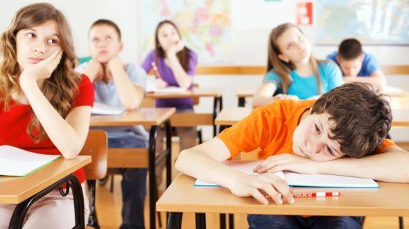 El calor hace que los estudiantes estén más distraídos y agitados. GETTY