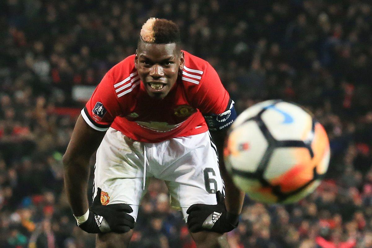 Paul Pogba podría llegar al Mánchester City la próxima temporada. (Foto Prensa Libre: AFP)