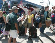 El ingreso de turistas ha aumentado en los últimos años. (Foto Prensa Libre: Hemeroteca PL)