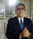 El magistrado separado Eddy Orellana Donis seguirá en prisión preventiva. (Foto Prensa Libre: La Red)