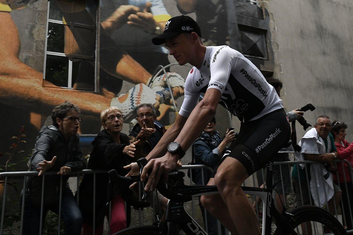 Chris Froome es abucheado en la presentación de los equipos del Tour de Francia