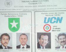 Tres miembros de la famlia Carpio participaron en las elecciones de 1985. (Foto: Mario Adler)