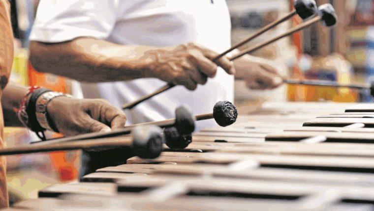 La marimba es un instrumento tradicional y símbolo patrio de Guatemala (Foto: Hemeroteca PL).
