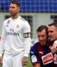 Sergio Ramos, el capitán del Real Madrid, fue el centro de los focos. (Foto Prensa Libre: EFE)